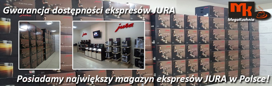 Ekspresy do kawy JURA